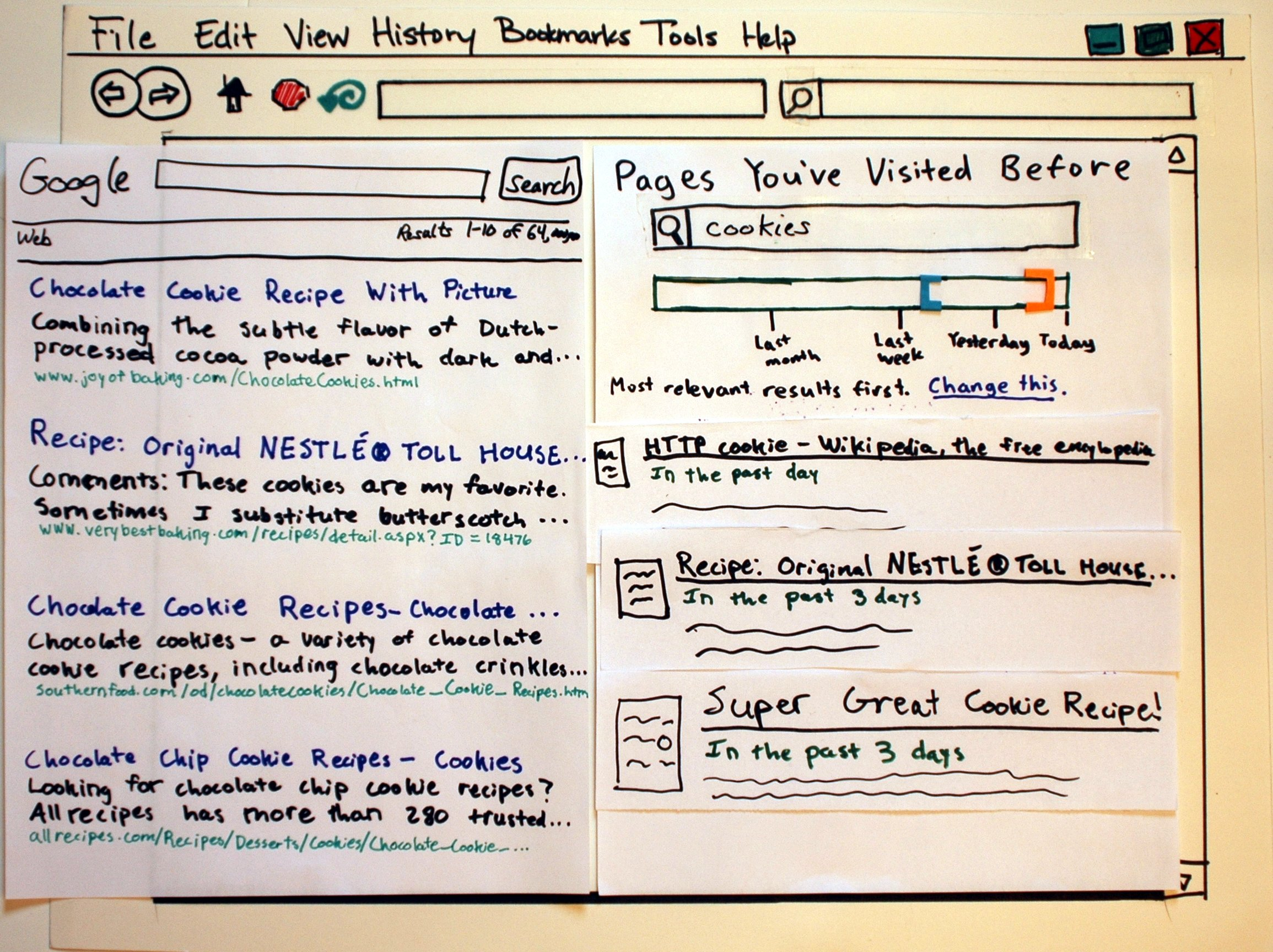 how to make a timeline on paper
